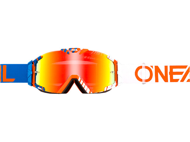 O'Neal B-30 Goggles, duplex blue/white/orange-radium
